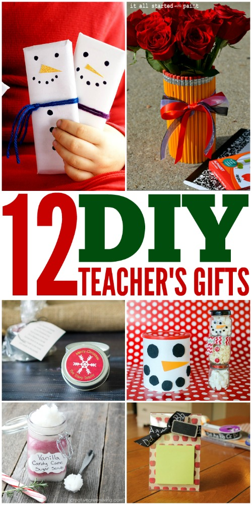 12 DIY Teacher's Gifts #DIYTeacherGifts #DIYGifts #TeacherGifts