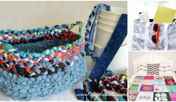 16 Amazing Ways to Upcycle Old T-Shirts