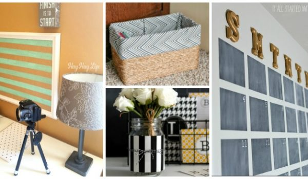 7 Simple DIY Home Office Decor Ideas