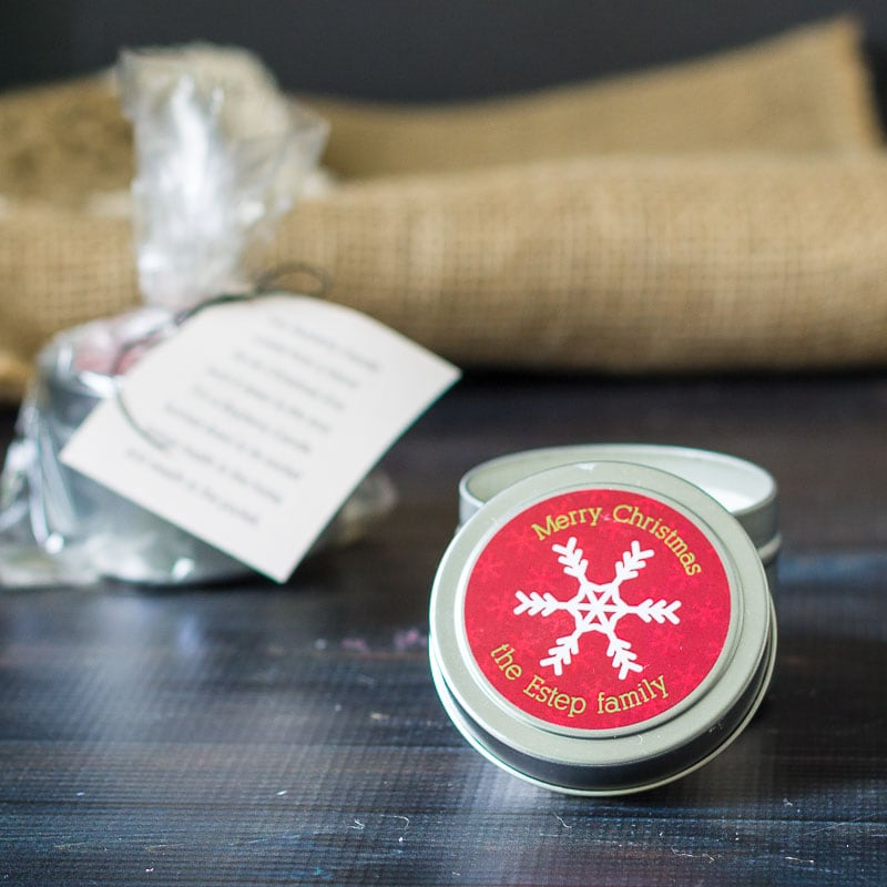 Candle Tin by Hearth & Vine