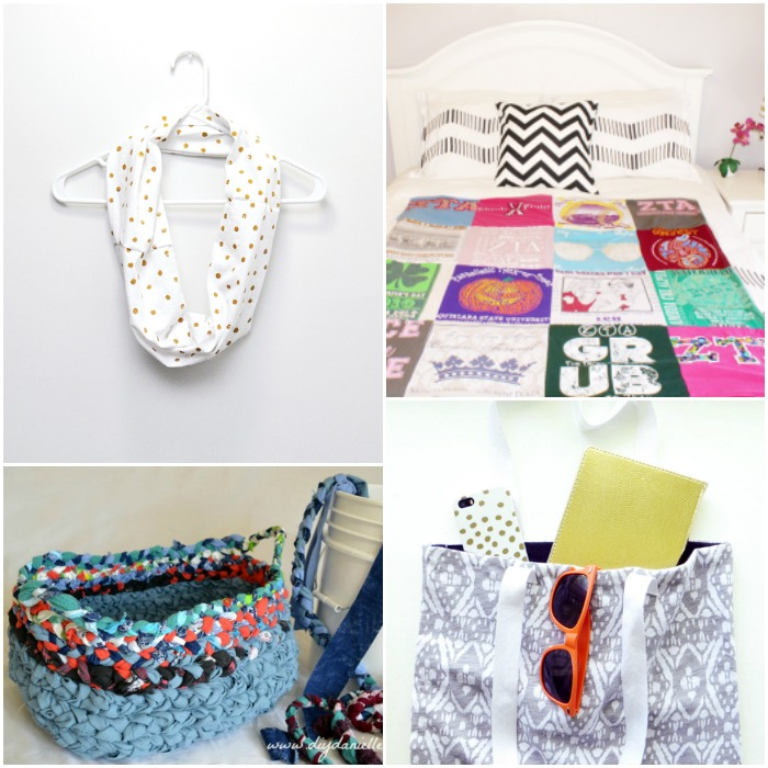 Fun Ideas to Upcycle Old T-Shirts