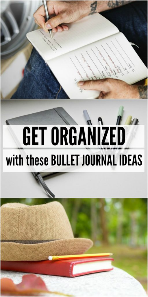 Get Organized with THese Bullet Journal Ideas