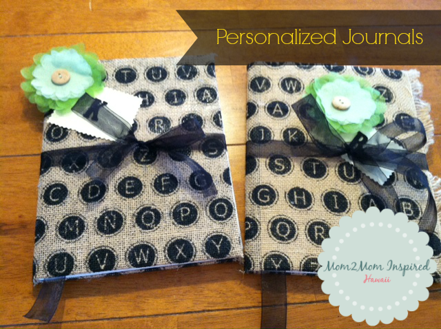 Journal DIY Teacher Gift by Hay Hay Life