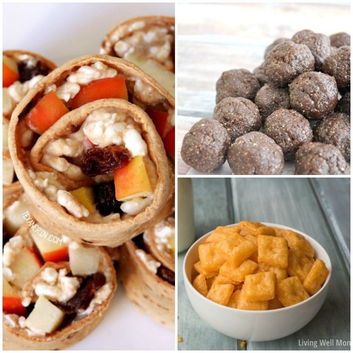 Sneak some nutrition in with these healthy snacks #HealthySnacks #HomemadeSnacks