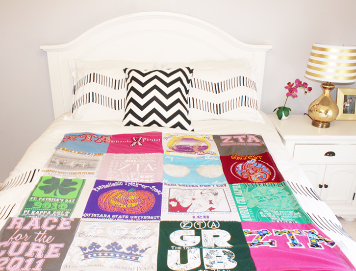 T-Shirt Quilt Idea | Southern Thing