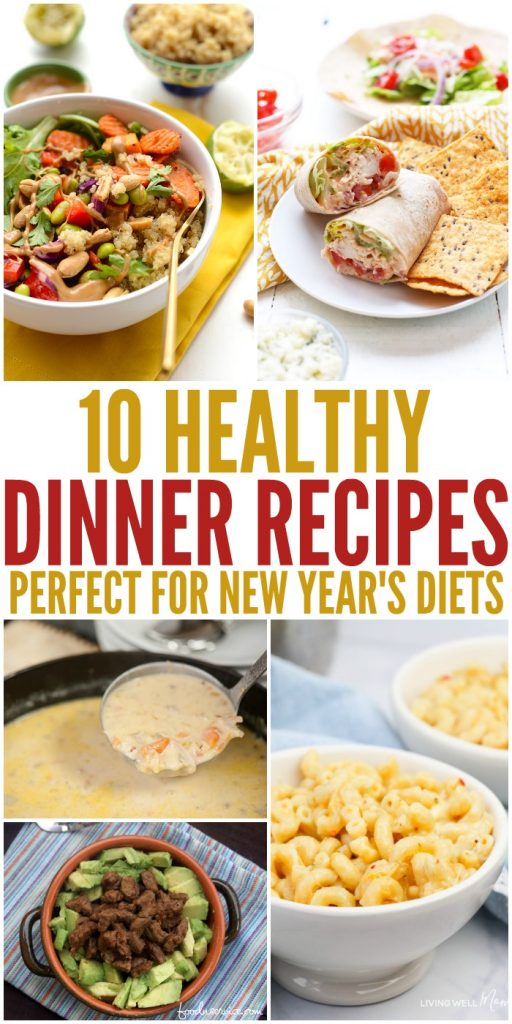 Starting your new diet? Try these healthy dinner recipes! #HealthyDinner #DinnerRecipes #DietFriendlyRecipes