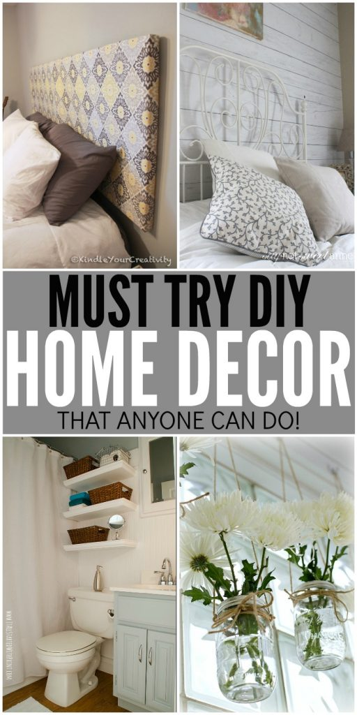 Must Try DIY Home Decor Ideas To Dress Up Your Home