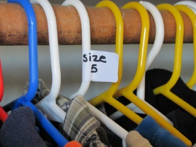 Clothing Labels are just one of our clothing storage ideas