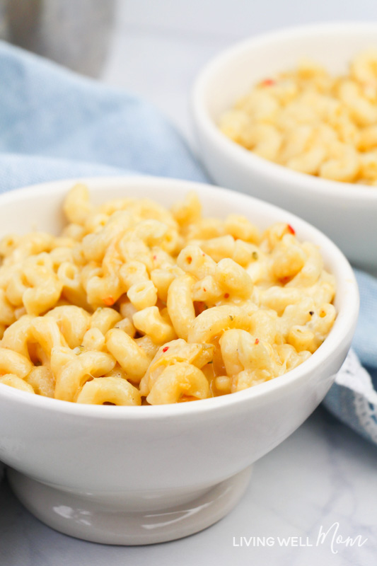 Living Well Mom Gluten-Free IP Mac and Cheese