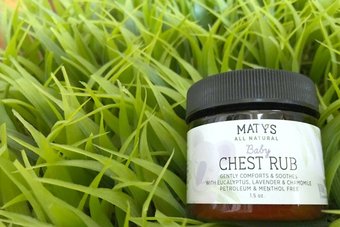 matys baby chest rub