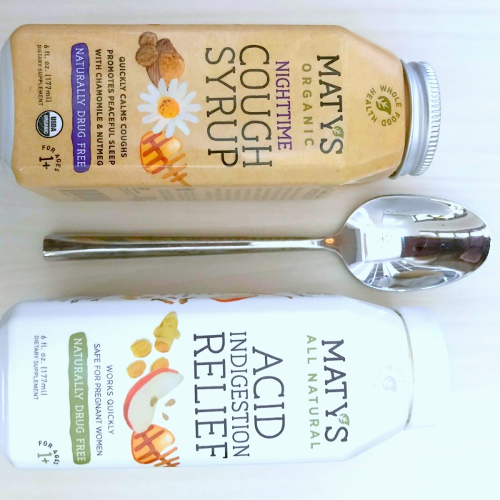 matys healthy products with spoon