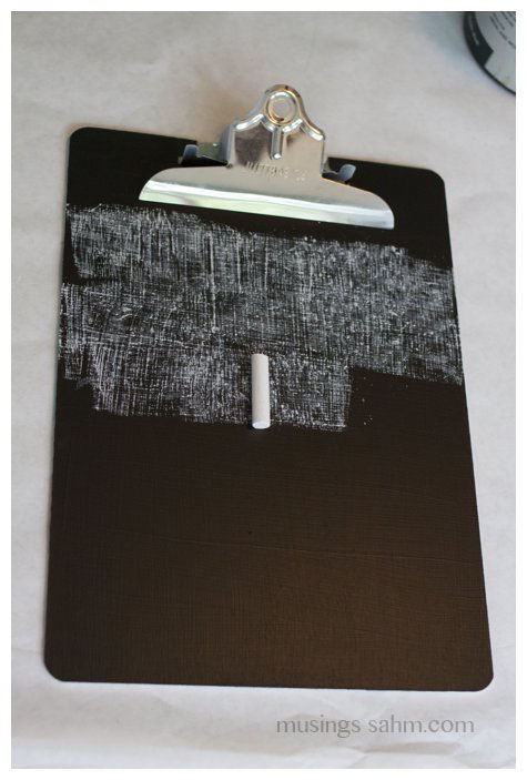 Chalkboard Clipboard - Living Well Mom