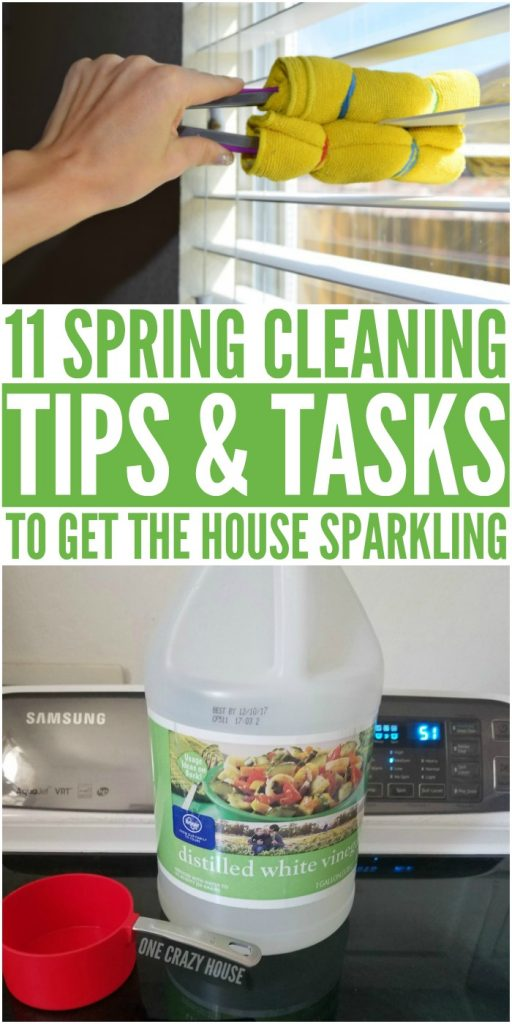 11 Spring Cleaning Tips and Tasks to Get the House Sparkling