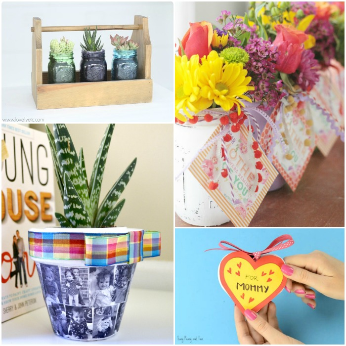 DIY Mother's Day Gifts She Really Wants