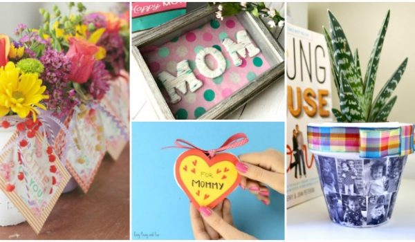 DIY Mother's Day Gifts That She Will Use
