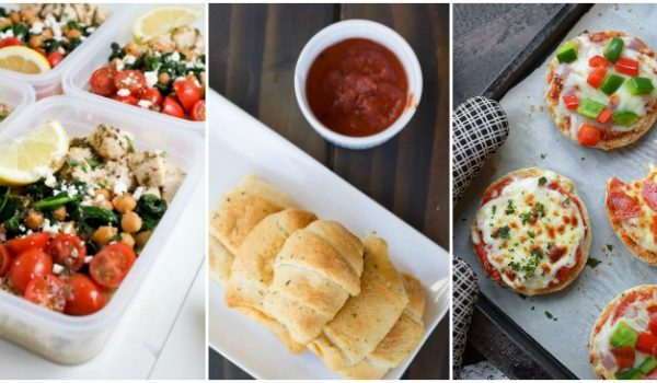 Delicious Kid-Approved Sandwich-Free School Lunch Recipes