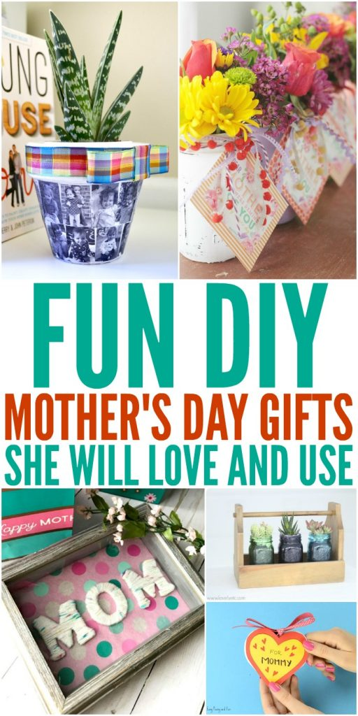 Fun DIY Mother's Day Gifts She Will Love and Use