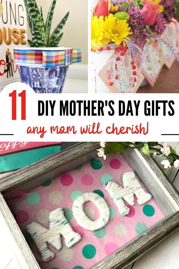 Homemade Mother's Day Gifts Pin Picture B.