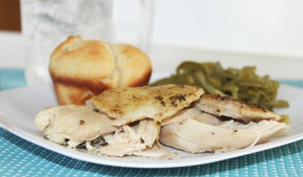 Slow Cooker Rotisserie Chicken - Crock Pot Rotisserie Chicken