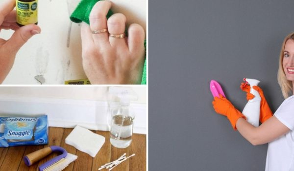 cleaning wall hacks