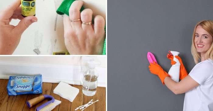 Genius Hacks to Make Cleaning Walls and Baseboards a Breeze