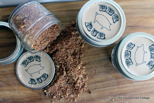 Father's Day Gift - BBQ Rub- The Country Chic Cottage