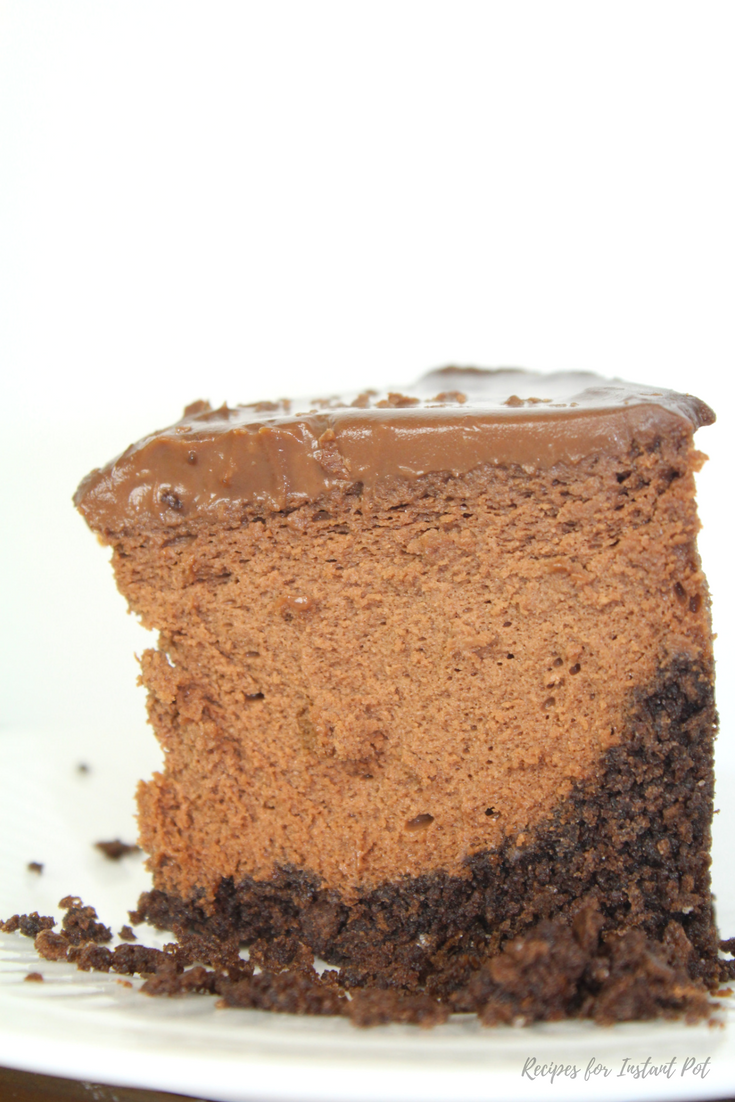 Instant Pot Chocolate Cheesecake - Recipes for Instant Pot