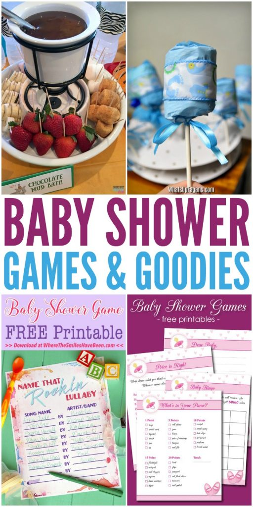Baby Shower Games and Goodies