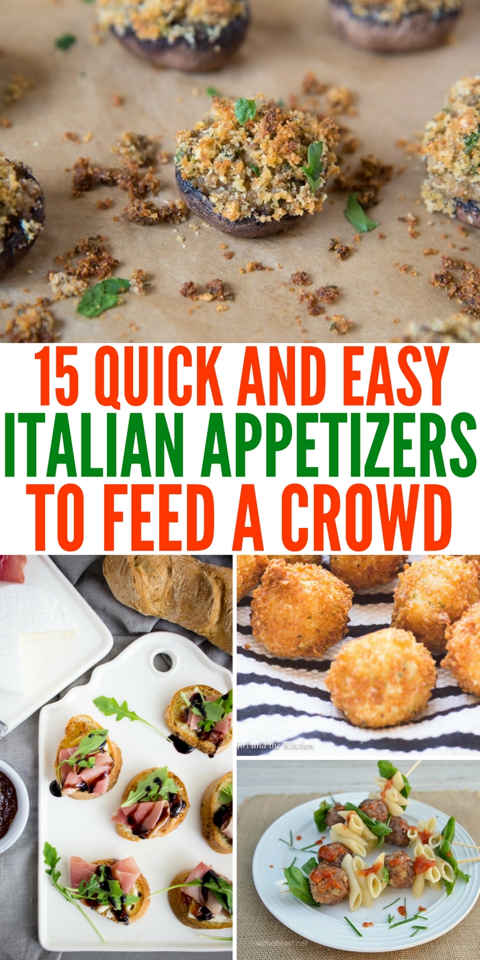Quick and Easy Italian Appetizers to Feed a Crowd (1)
