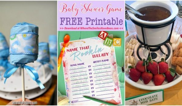 Silly and Fun Baby Shower Games and Goodies to Lighten The Mood