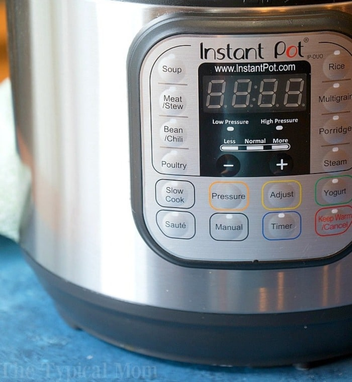 Instant Pot Tricks - Printable Instant Pot Times- The Typical Mom