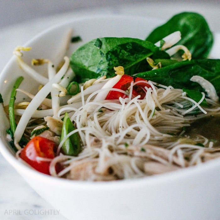 Instant Pot Chicken Recipes - Instant Pot Chicken Pho- April Golightly