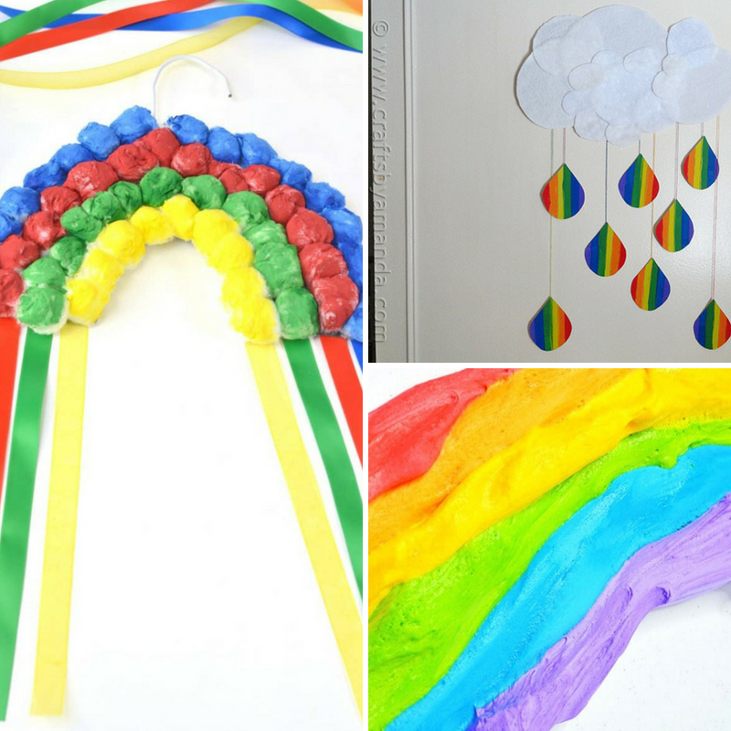 Pass The Time With These Adorable Rainbow Crafts For Kids