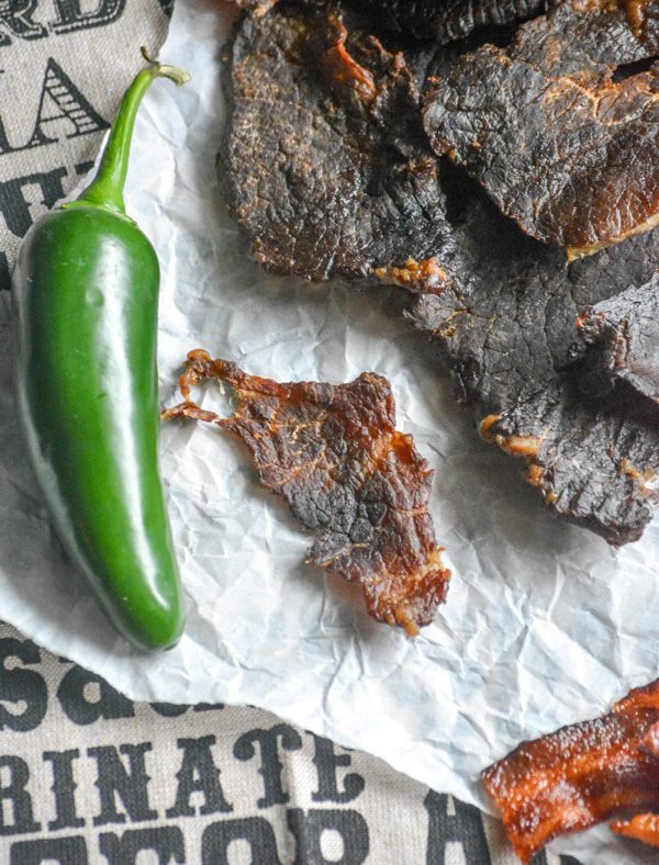 Homemade Road Trip Snacks - Dr. Pepper Jalapeno Jerky- 4 Sons R Us