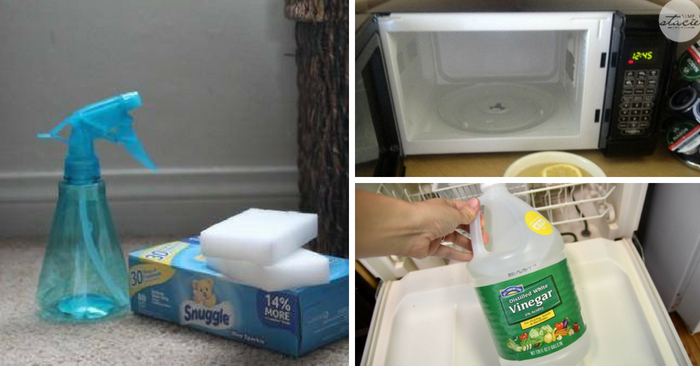 15 Genius Cleaning Hacks You Have To Try Today