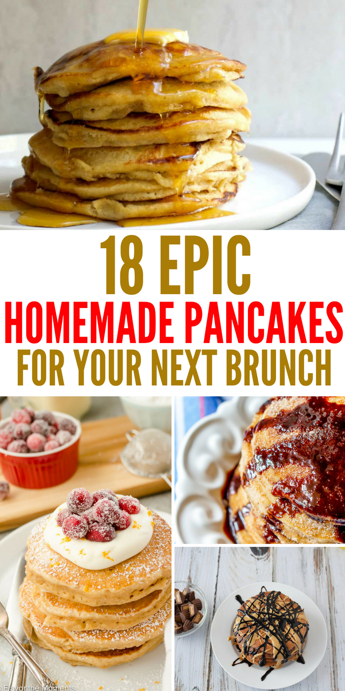 18 Homemade Pancakes That Will Make Your Family Go Wild