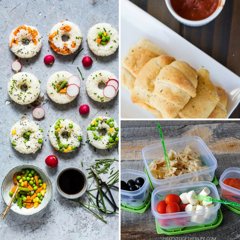 No Sandwich Lunch Ideas That Your Kids Will Devour