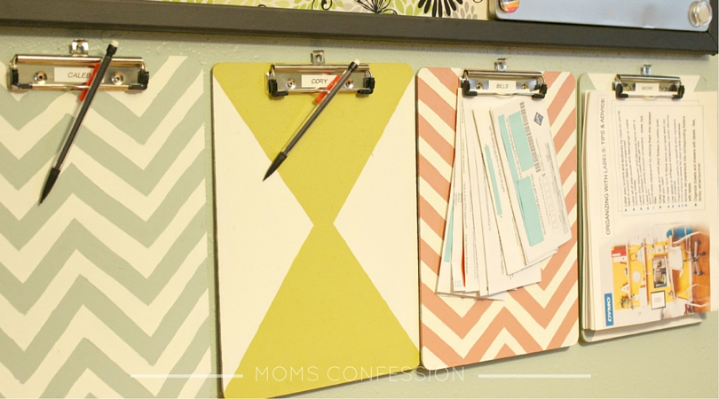 Back to School Organization - Homework Station - Moms Confession
