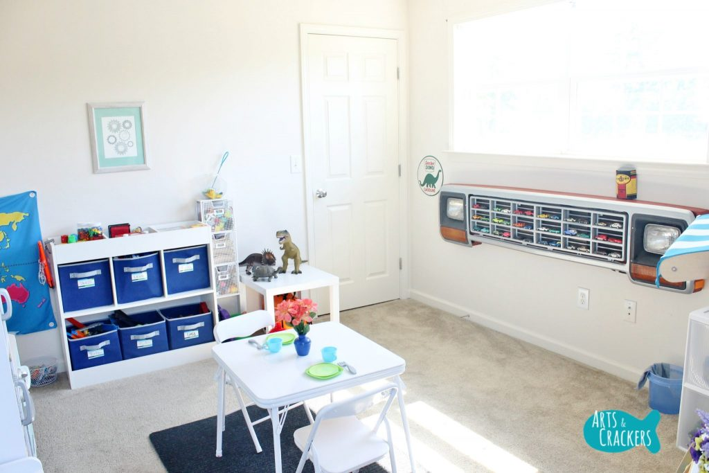 Playroom DIY - Playroom Transformation - Arts Cracker