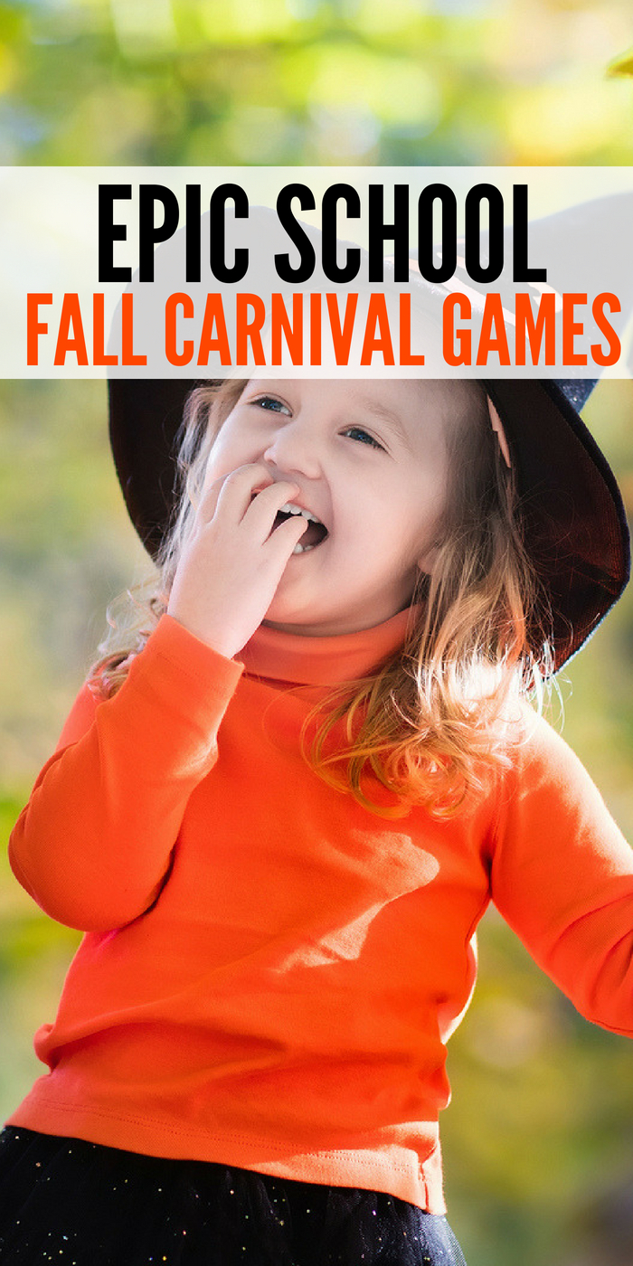 School Fall Carnival Games to Play With your Child