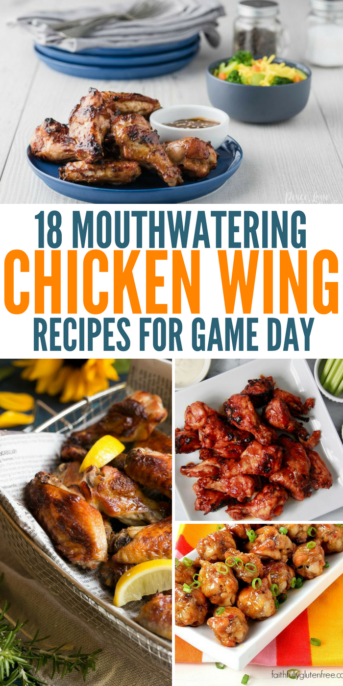 18 Mouthwatering Chicken Wing Recipes For Game Day Eats