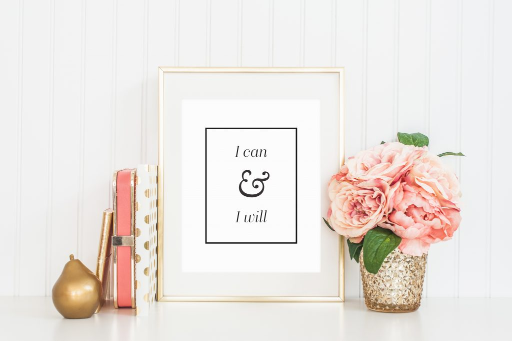Office Makeover - Inspirational Office Art - Busy Mommy Media