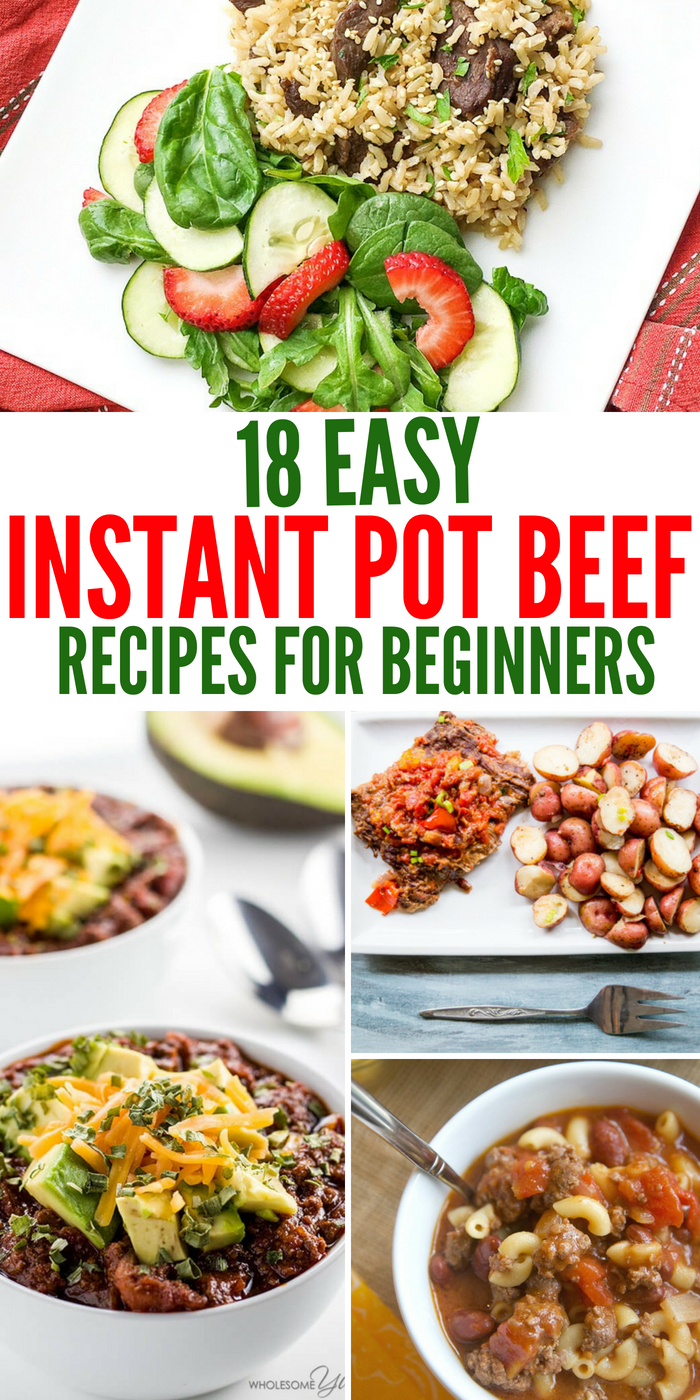 18 Easy Instant Pot Beef Dishes That Are Perfect For Beginners