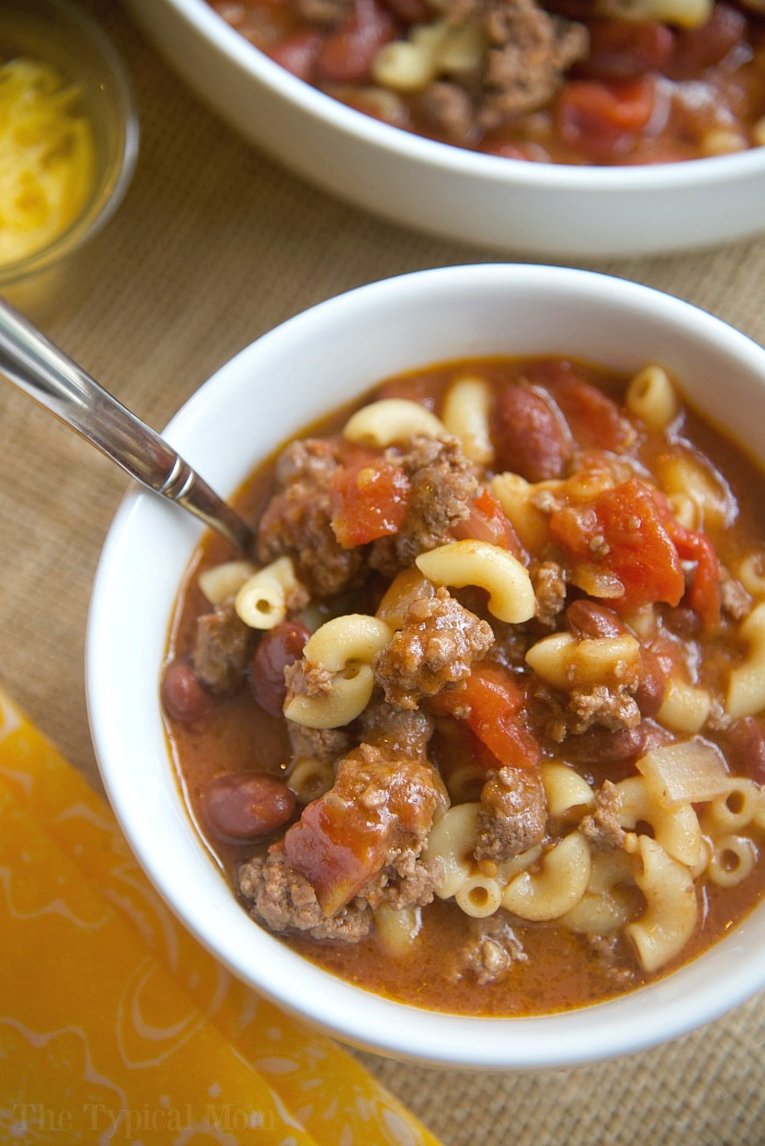 Instant Pot Beef Recipe - Chili Mac Recipe- The Typical Mom