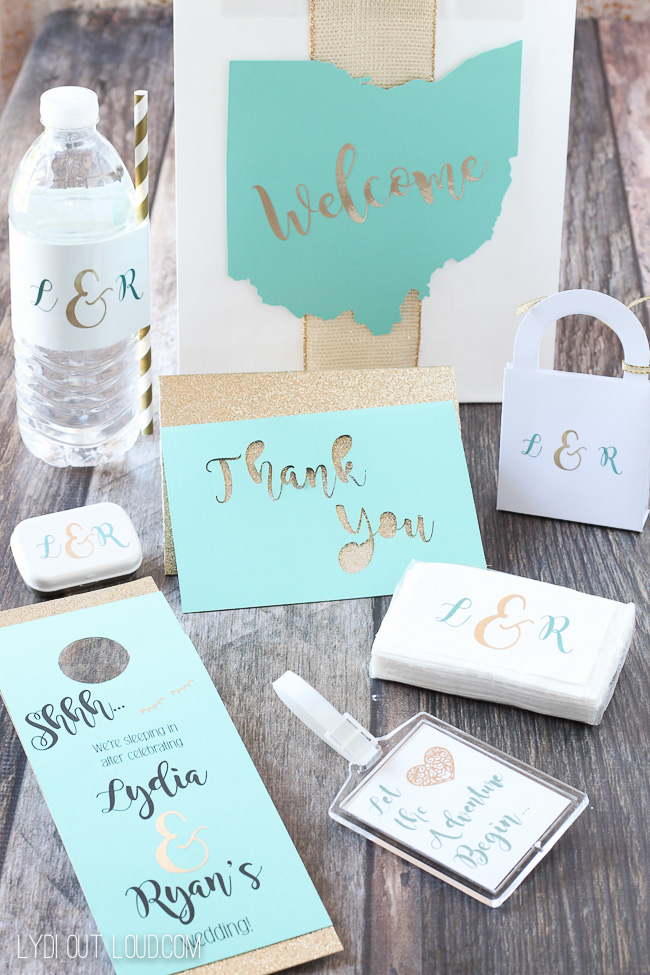 Wedding DIY - Wedding Guest Gift Bags - Lydi Out Loud