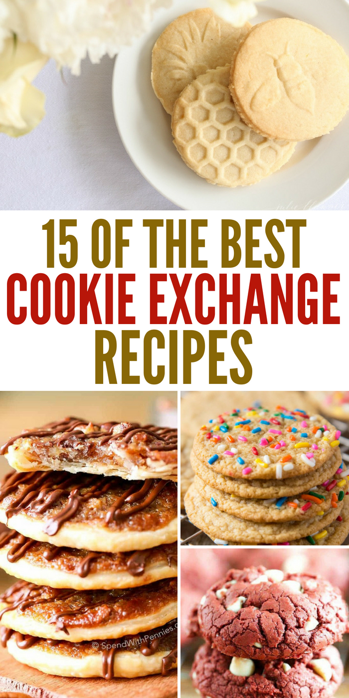 15 Of The Best Cookie Exchange Recipes To Whip Up