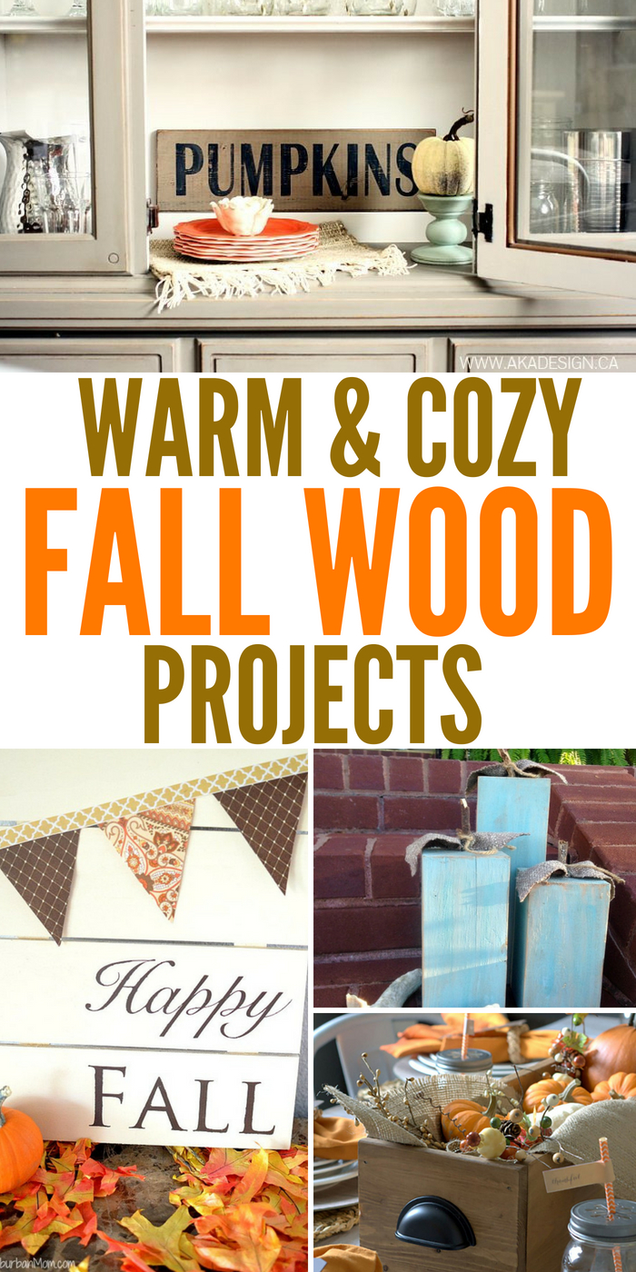 14 Warm and Cozy Fall Wood Projects For The Home