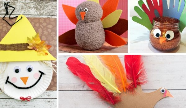 17 Thanksgiving Crafts Kids Can Make To Celebrate