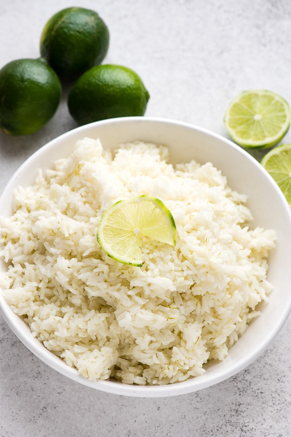 Instant Pot Side Dishes - Coconut Lime Jasmine Rice - Boulder Locavoure