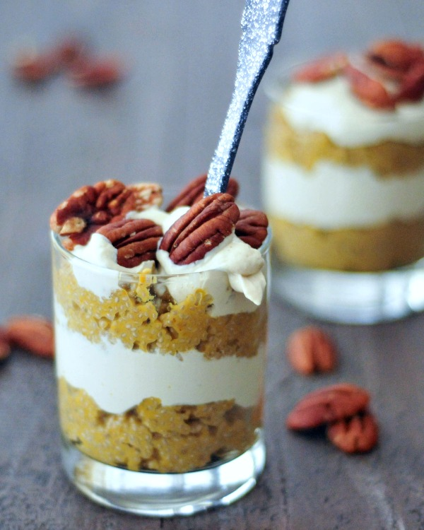 Pumpkin Spice - Pumpkin Spice Latte Chia Pudding - Spa Betty